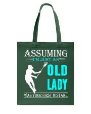 Lacrosse lady Tote Bag thumbnail