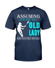 Lacrosse lady Classic T-Shirt thumbnail