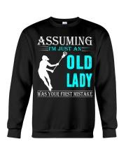 Lacrosse lady Crewneck Sweatshirt thumbnail