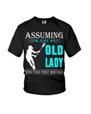 Lacrosse lady Youth T-Shirt thumbnail
