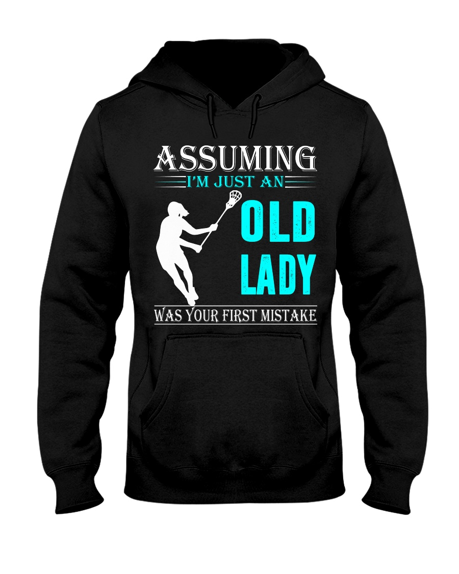 Lacrosse lady Hooded Sweatshirt