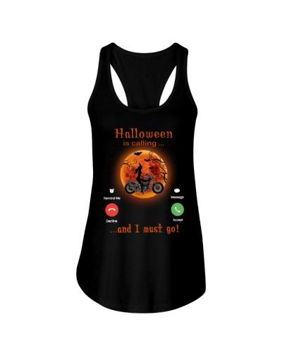 motorcycle is calling halloween