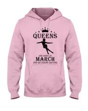 queens figure skating-march Hooded Sweatshirt front