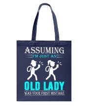 geocaching old lady Tote Bag thumbnail