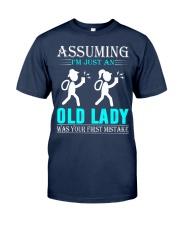 geocaching old lady Classic T-Shirt thumbnail
