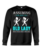 geocaching old lady Crewneck Sweatshirt thumbnail
