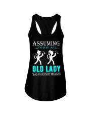 geocaching old lady Ladies Flowy Tank thumbnail