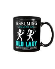 geocaching old lady Mug thumbnail