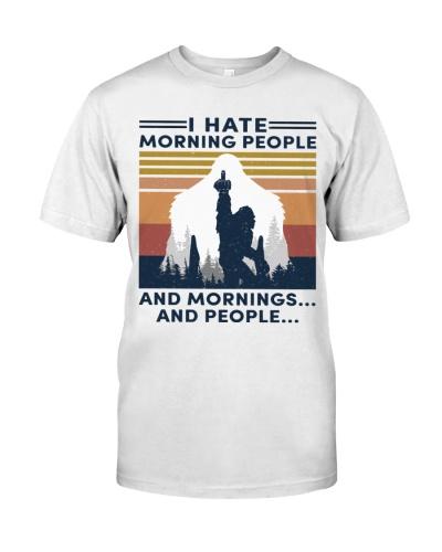 bigfoot hate morning people