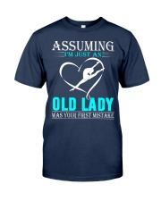 Gymnastics lady Classic T-Shirt thumbnail