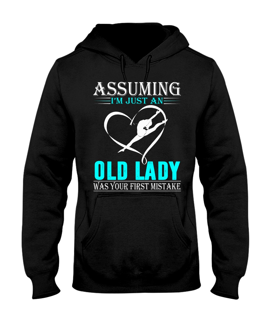 Gymnastics lady Hooded Sweatshirt