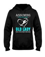 Gymnastics lady Hooded Sweatshirt front