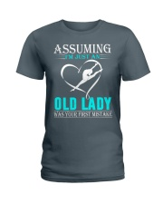 Gymnastics lady Ladies T-Shirt thumbnail