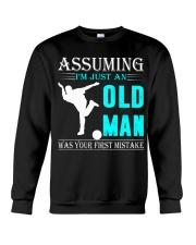 bowling old man Crewneck Sweatshirt thumbnail