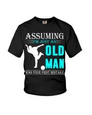 bowling old man Youth T-Shirt thumbnail