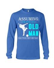 bowling old man Long Sleeve Tee thumbnail