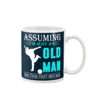 bowling old man Mug thumbnail
