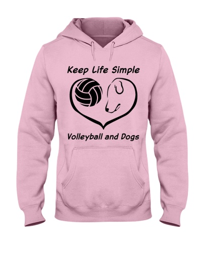 keep life simple volleyball and dog