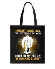 bigfoot in my head n002 Tote Bag thumbnail