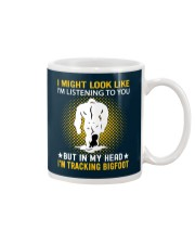 bigfoot in my head n002 Mug thumbnail