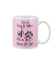 I'm a dog and wine kind of girl Mug thumbnail