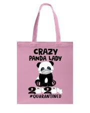 panda quarantined Tote Bag thumbnail