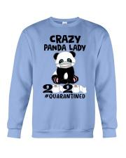 panda quarantined Crewneck Sweatshirt thumbnail