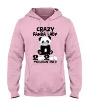 panda quarantined Hooded Sweatshirt front