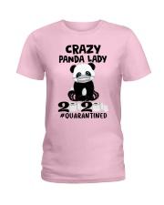 panda quarantined Ladies T-Shirt thumbnail
