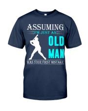 Softball old man Classic T-Shirt thumbnail
