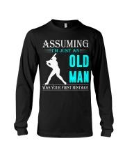 Softball old man Long Sleeve Tee thumbnail