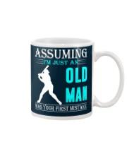 Softball old man Mug thumbnail