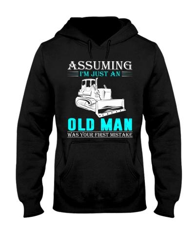 bulldozer old man