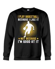 i like basketball Crewneck Sweatshirt thumbnail