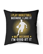 "i like basketball Indoor Pillow - 16"" x 16"" thumbnail"
