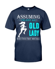 jogging old lady Classic T-Shirt thumbnail