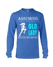 jogging old lady Long Sleeve Tee thumbnail