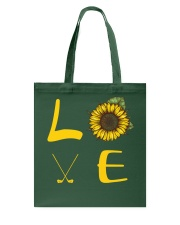 Love golf Tote Bag thumbnail