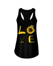 Love golf Ladies Flowy Tank thumbnail