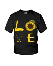 Love golf Youth T-Shirt thumbnail