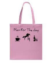Plan for the day show jumping with spirits Tote Bag thumbnail