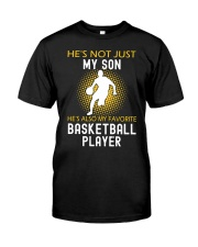 my son is a basketball player Classic T-Shirt thumbnail