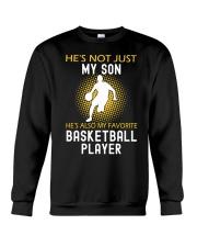 my son is a basketball player Crewneck Sweatshirt thumbnail