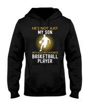 my son is a basketball player Hooded Sweatshirt front
