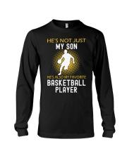 my son is a basketball player Long Sleeve Tee thumbnail