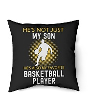 """my son is a basketball player Indoor Pillow - 16"""" x 16"""" thumbnail"""