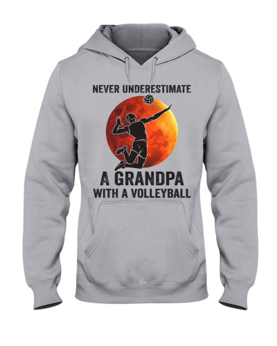 never underestimate a grandpa with volleyball