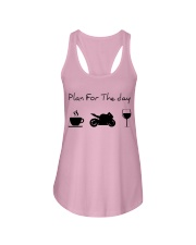 Plan for the day motorcycle Ladies Flowy Tank thumbnail