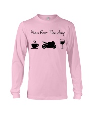 Plan for the day motorcycle Long Sleeve Tee thumbnail