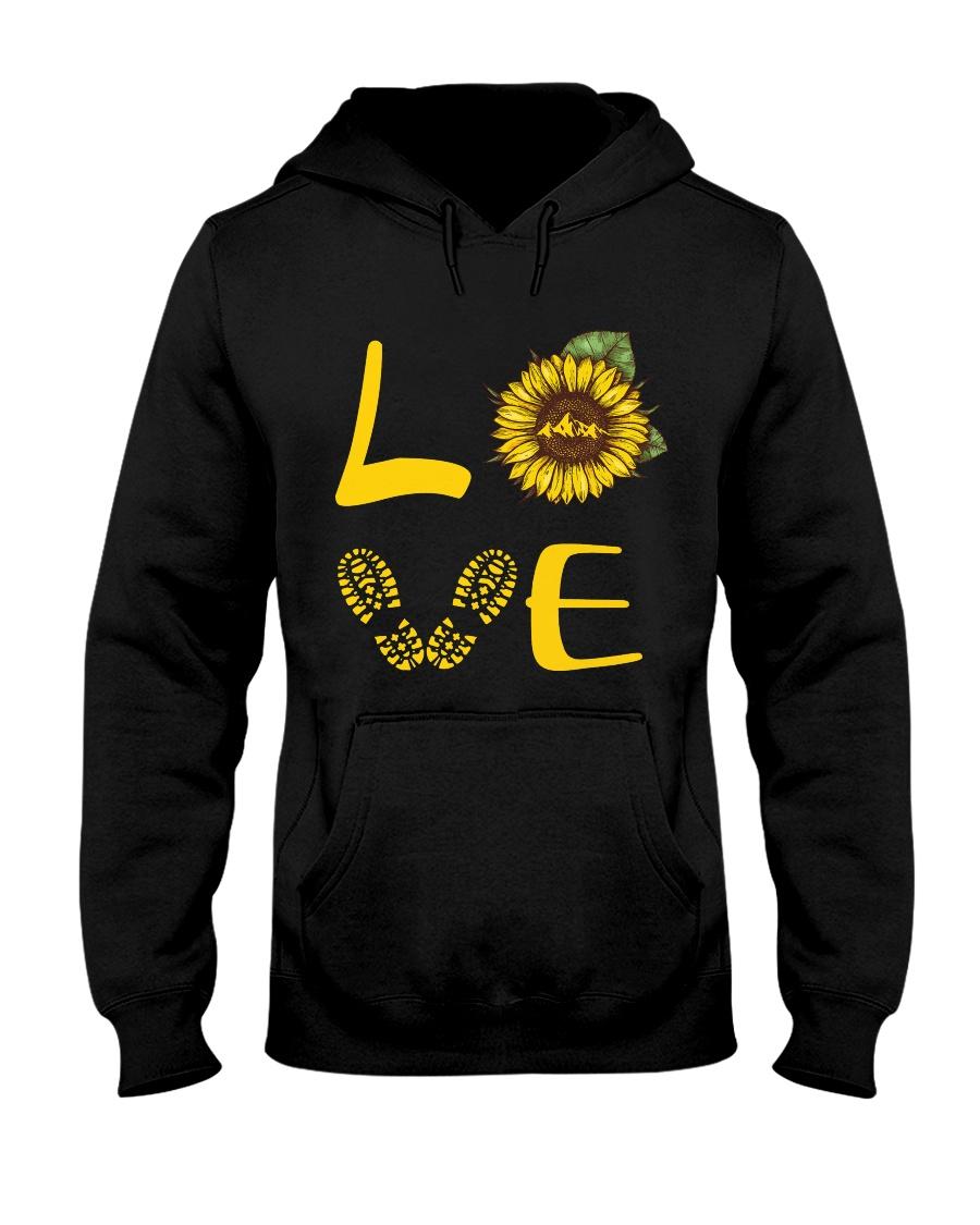 Love hiking Hooded Sweatshirt